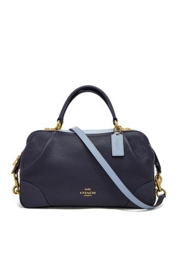 Coach blue Lane Satchel Bag (cv) CB3CFAC8EED707GS_1