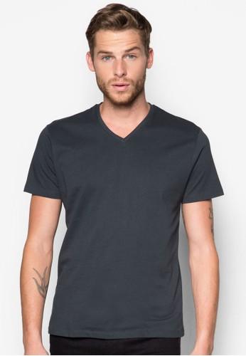 棉質V 領Tesprit 會員恤, 服飾, T恤