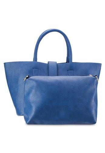 Perllini&Mel blue Satchel Top Handle Bag PE444AC76WKXMY_1