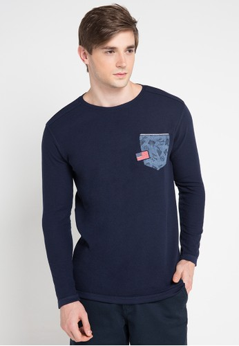 X8 navy Adan T-Shirts X8323AA0VWHVID_1