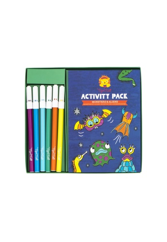 Tiger Tribe Activity Pack - Monsters And Aliens C6FF9TH72604B4GS_1