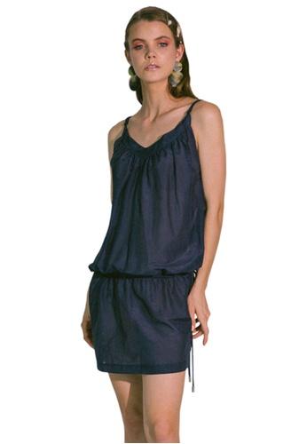 Akosée navy Ludus Beach Dress 6041AAA13F141AGS_1