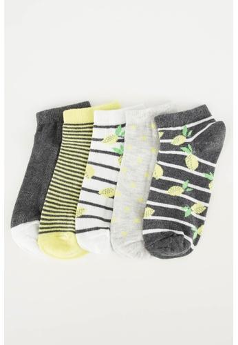 DeFacto multi 5-pack Low Cut socks 32970AAFE462FDGS_1