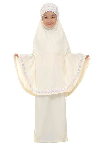 SITI KHADIJAH yellow Siti Khadijah Telekung Cilik Samira in Yellow C3E83AA601B579GS_1