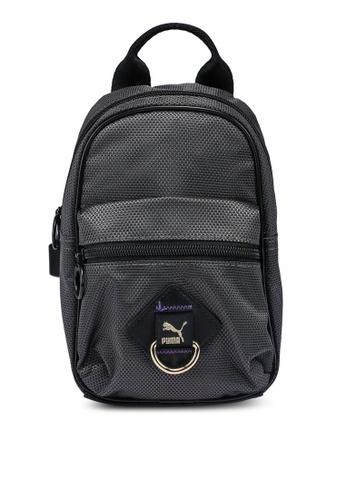 PUMA black Time Minime Women's Backpack 987C6AC06BA159GS_1