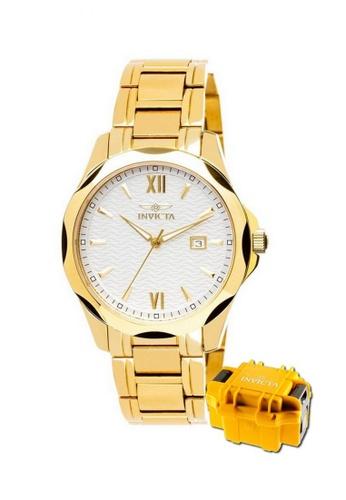 INVICTA gold Specialty  Swiss Quartz Fashion Watch 18109 w/ Impact Case 10393AC17DCD1DGS_1