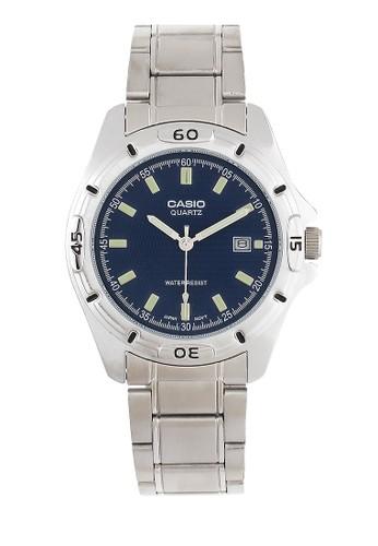 Casio silver Men Analog Watches MTP-1244D-2ADF CA347AC0W3KBID_1