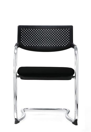 AMERCIS black Amercis Ethan Cantilever Chair C6518HL0441B99GS_1