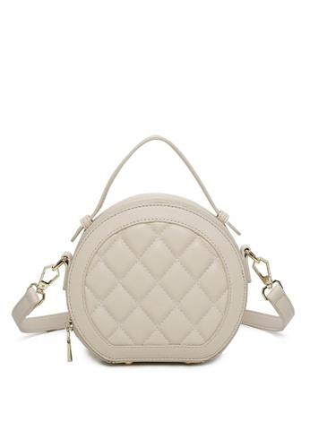 Milliot & Co. beige Sibyl Top-Handle Bag 61F7CACC1CAA79GS_1