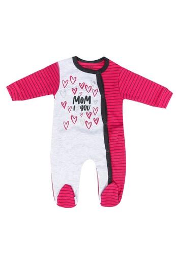 Babybol purple Baby Long Sleeve Romper 1F987KA4626FE5GS_1