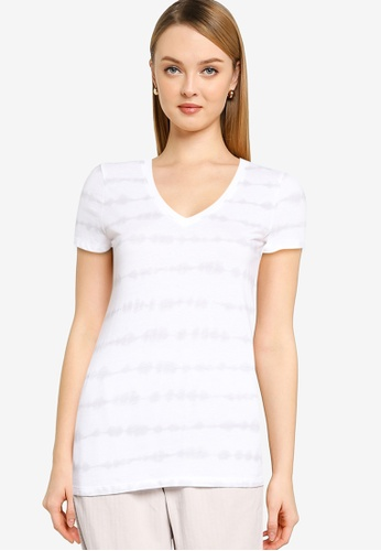GAP grey Favorite Print T-Shirt 55968AAEB75E55GS_1
