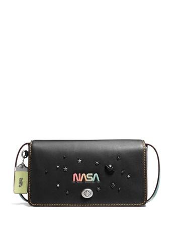 Coach black Dinky Crossbody Bag (cv) D4124AC43DF438GS_1
