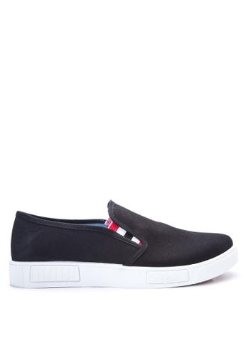 Preview black Men's Slip on Sneakers PR211SH78DOJPH_1