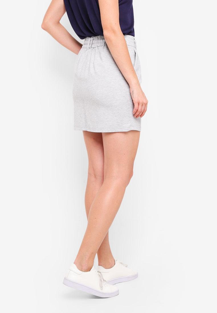Easy Melange Poptrash ONLY Light Grey Shorts UTwRBxzp