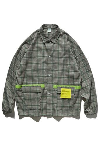 Twenty Eight Shoes Trend Printed Plaid Shirt 92119W 141F8AA4ABA167GS_1
