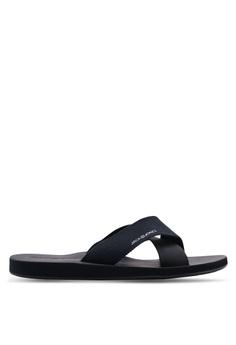 best service 632f0 eb580 Jack & Jones black Nova Sandals C0B67SHEA1EC5DGS_1