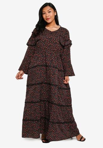 CURVA FABULOUS black Ms Anna Bohemian Maxi DEBA7AAA349440GS_1