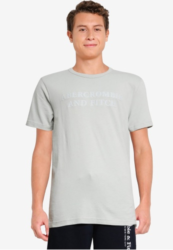 Abercrombie & Fitch green Trend Tech Tonal Tee 51A17AAB430813GS_1