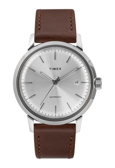 6f0e388e4 TIMEX brown Timex - Marlin® Automatic 40mm - SS Case/Brown Leather Strap -