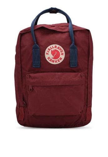 Fjallraven Kanken red Ox Red-Royal Blue Kanken 13'' Laptop Backpack FJ382AC0RWKWMY_1