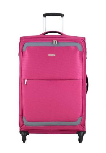 "Airways pink Airways ATS5930 20"" 4 Wheels Spinner Pink Luggage BB144AC214B9A4GS_1"