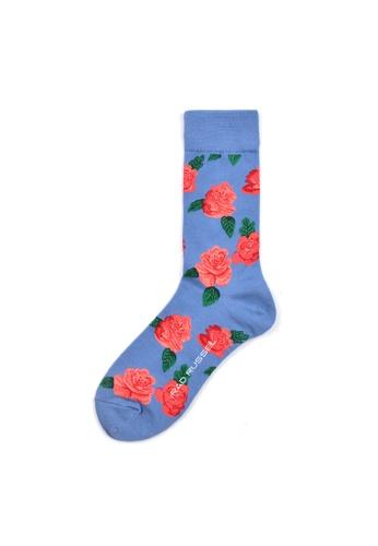 Rad Russel multi Rad Russel Ladies Patterned Socks- 70628 4CE72AAD849E16GS_1