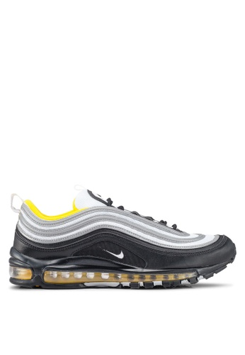 Nike black and multi Men's Nike Air Max 97 Shoes BAADESH77B0FDAGS_1