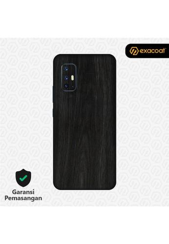 Exacoat Vivo V19 3M Skins Wood Series - Wood Ebony B9412ES72D2D10GS_1