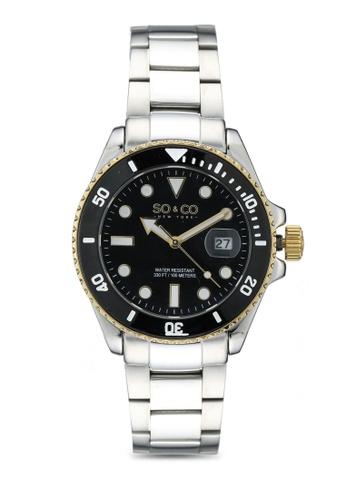 SO&CO black Yacht Timer 5025 0DA98AC9DEF4CAGS_1