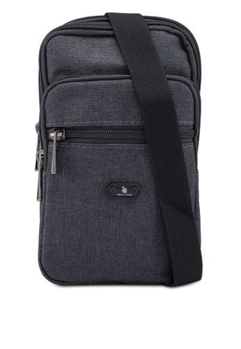 Swiss Polo grey Casual Pouch Bag B8BDEAC9EB8317GS_1