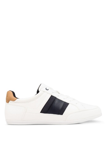ALDO white Princealbert Sneakers EA2EBSH15C7A77GS_1