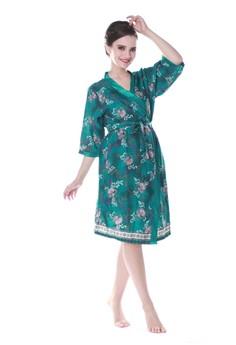 harga Batik Kimono Satin Set-Green Zalora.co.id