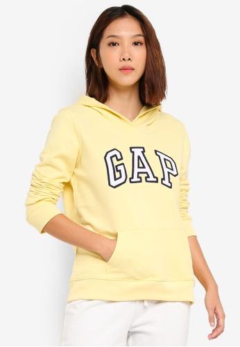 f4e98d13599fc1 GAP yellow Gap Classic Hoodie 20B83AA964D4B7GS 1. CLICK TO ZOOM