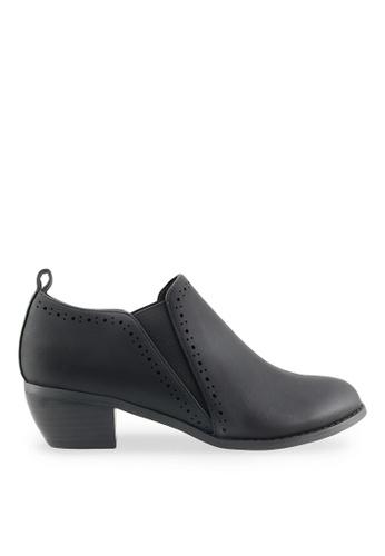 Footspot black FOOTSPOT - Minimal Elastic Oxford Shoes FO296SH2VMA3HK_1