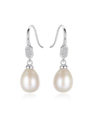 SUNRAIS silver High-grade colored stone silver fashion earrings 792D5ACDDC5042GS_1