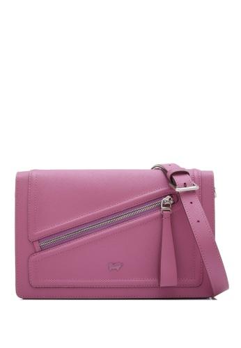 Braun Buffel purple Heidi Medium Crossbody Bag DE656ACD0446D3GS_1
