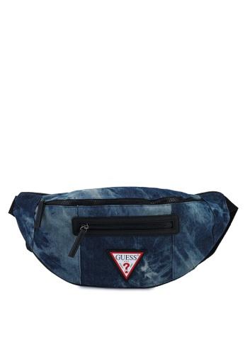 GUESS blue PCH Bum Bag 3F504AC86650FCGS_1