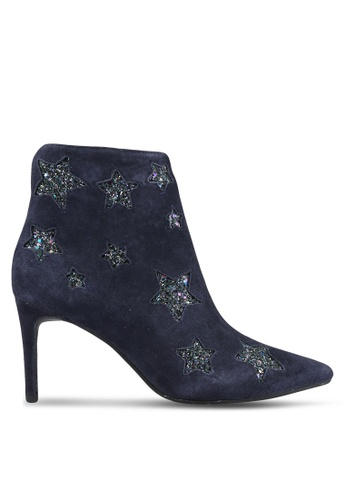 House of Avenues blue and navy Ankle Boots HO685SH0RRCBMY_1