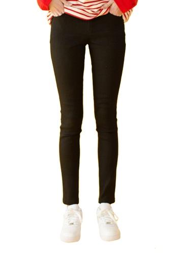 Bonnie&Blanche black Mixed Skinny Jeans BO457AA0GIIASG_1