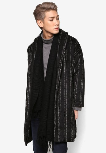 長版條紋外套, 服飾, esprit童裝門市外套