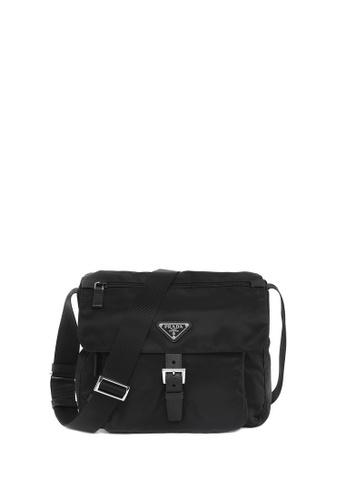 Prada black Fabric Crossbody Bag 14E83AC24533DEGS_1