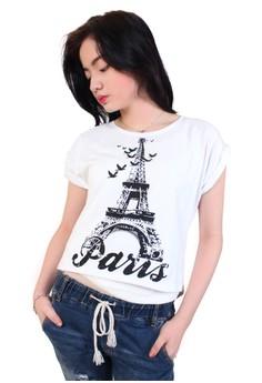 Long Back Paris Blouse