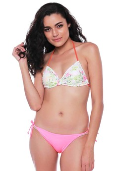 harga Forever Summer - Butterfly Top And Triangle Bottoms Bikini Set Zalora.co.id