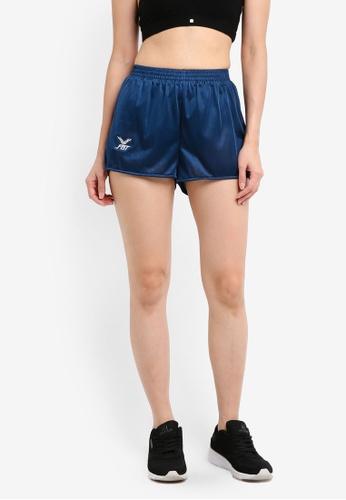FBT blue and navy Running Shorts Straight Cut EAD4EAAA259558GS_1