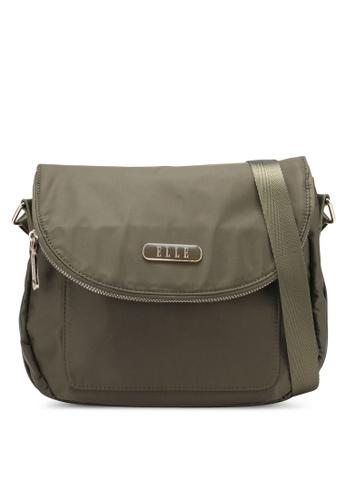 ELLE green Lizzie Sling Bag EL900AC0S25JMY_1