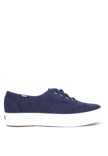 2784ab89405c8 Shop Keds Triple Eyelet Sneakers Online on ZALORA Philippines