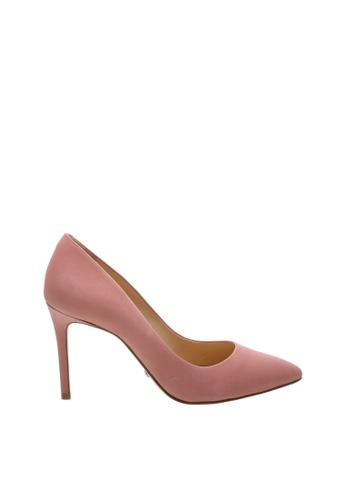 SCHUTZ 粉紅色 SCHUTZ 尖頭高跟鞋 - LUCIA (玫瑰粉) 49584SHBE91006GS_1