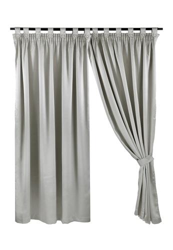 Eurotex Eurotex, Ready Made Curtain, Dim Out, 3 Ways Hanging Options (1 Piece) G6018 - Cream 16C7DHLB3DA62CGS_1