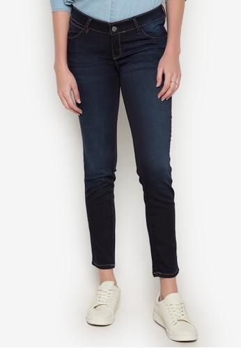Wrangler blue Ladies Knitted Denim Jeans WR067AA0K5GQPH_1