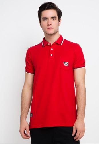 SHARKS red and multi Polo Shirt SH473AA0VMGSID_1
